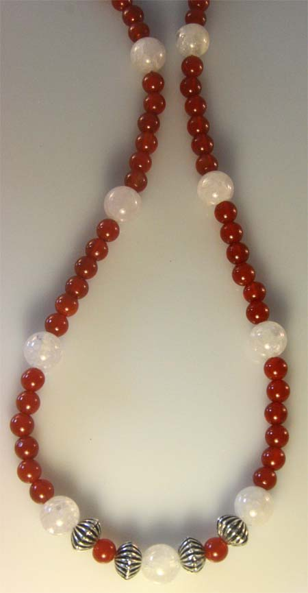 Courageous Carnelian Necklace