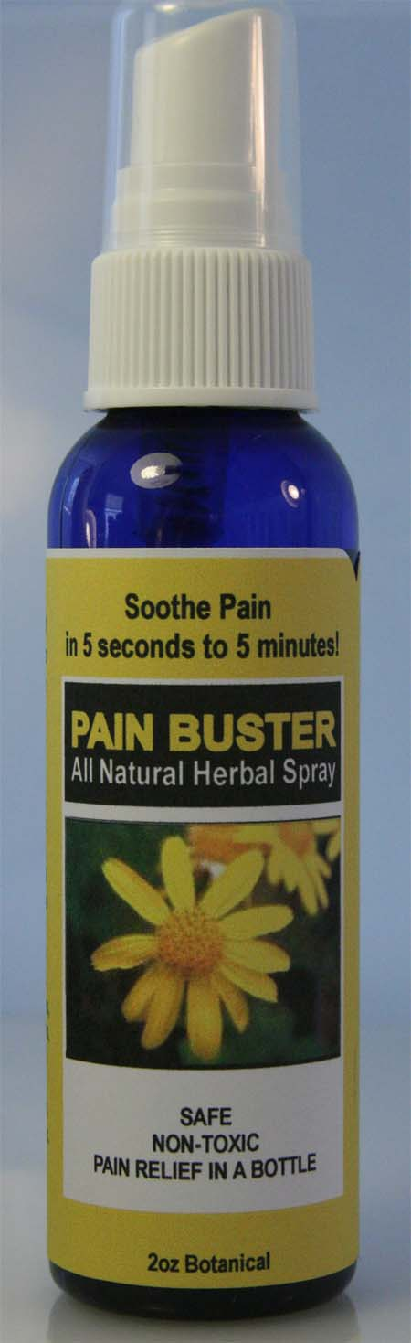 Pain Buster All Natural Herbal Spray