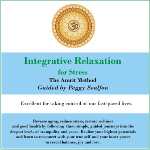 Integrative Relaxation for STRESS CD by Peggy Sealfon